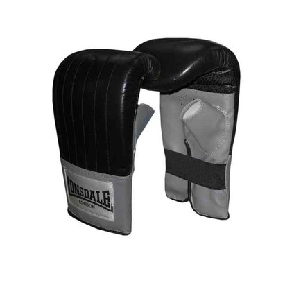 Lonsdale Leather Pro Bag Mitt