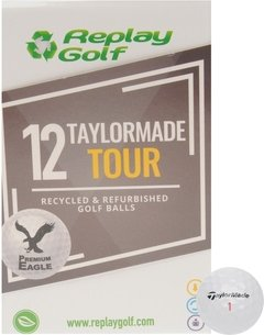 Replay Golf TaylorMade Tour Golf Balls 12 Pack