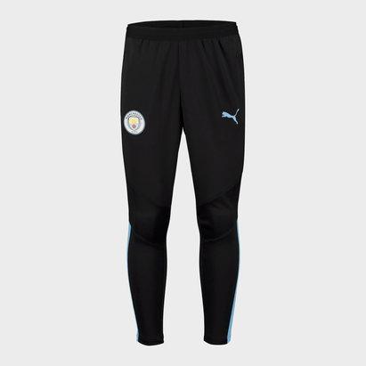 Puma Manchester City 19/20 Kids Pro Football Track Pants