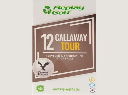 Replay Golf Callaway Tour Recycled Golf Balls