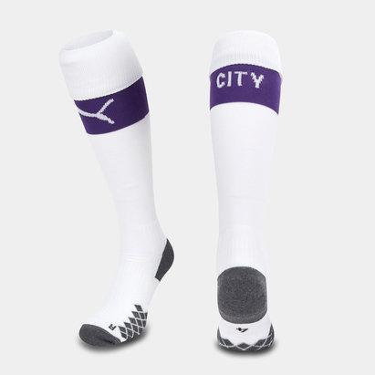 Puma Manchester City 19/20 Kids Home Football Socks