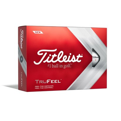 Titleist DT TruSoft 12 Pack Golf Balls