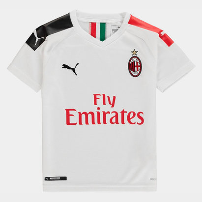 Puma AC Milan 19/20 Kids Away S/S Football Shirt