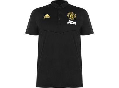 adidas Manchester United 19/20 Football Polo Shirt