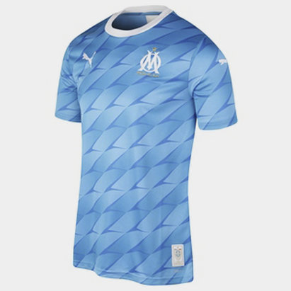 Puma Marseille Away Shirt 2019 2020 Mens