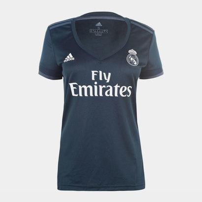 adidas Real Madrid Away Shirt 2018 2019 Ladies