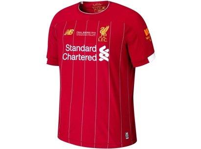 New Balance Liverpool 2019 European Cup Final Shirt Junior