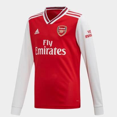 adidas Arsenal 19/20 Kids Home L/S Football Shirt
