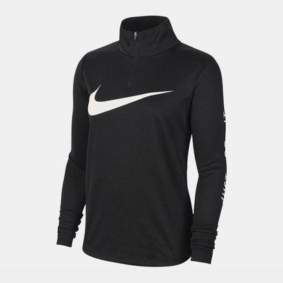 Swoosh Midlayer Zip Top Ladies