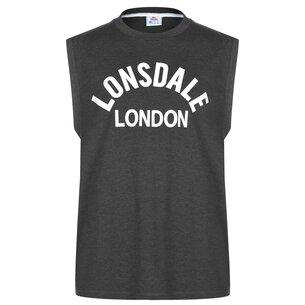 Lonsdale Box Tank Vest Mens