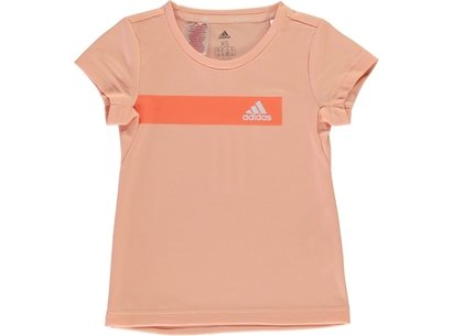 adidas Train Cool T Shirt Girls
