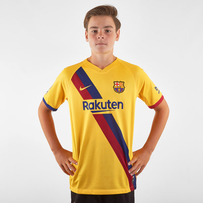 Nike FC Barcelona 19/20 Away Replica Kids Football Shirt