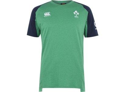 Canterbury Ireland Cotton Feel Training T Shirt Mens