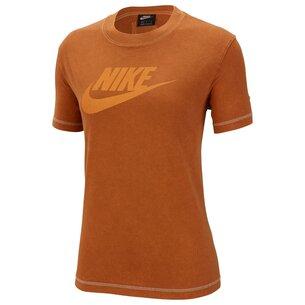 Nike Rebel Short Sleeve T Shirt Ladies
