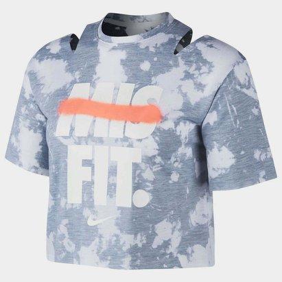 Nike Rebel Crop T Shirt Ladies