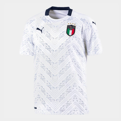Puma Italy Away Shirt 2020 Junior