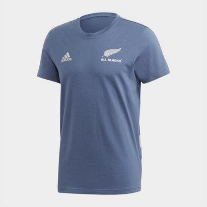 adidas New Zealand All Blacks Mens Cotton T Shirt