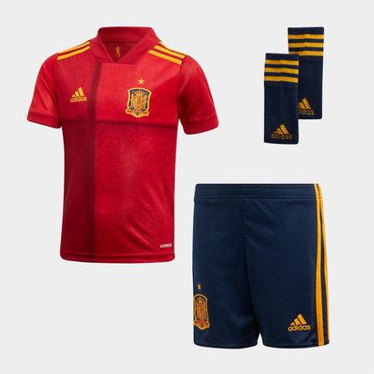 adidas Spain 2020 Home Mini Football Kit