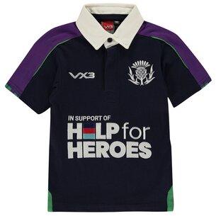 VX-3 3 Help For Heroes Scotland Shirt Junior Boys