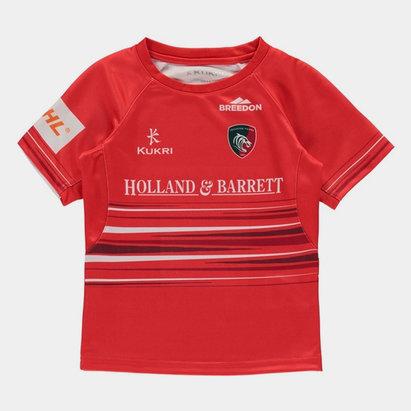 Kukri Leicester Tigers 2019/20 Alternate Kids Replica Shirt