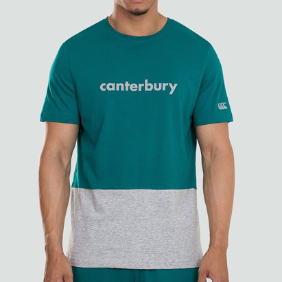 Canterbury Block Logo T-Shirt Mens