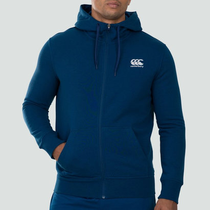 Canterbury Full Zip Fleece Hoodie Mens