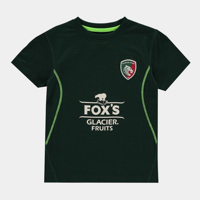 Kukri Leicester Tigers 2019/20 Kids FX Lifestyle T-Shirt