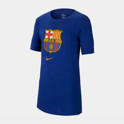 Nike Barcelona Crest T-Shirt 2019 2020 Junior