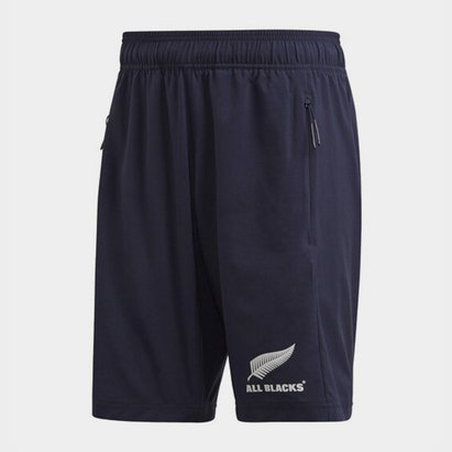 adidas New Zealand All Blacks Mens Woven Shorts Primeblue