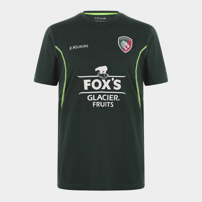 Kukri Leicester Tigers T Shirt Mens