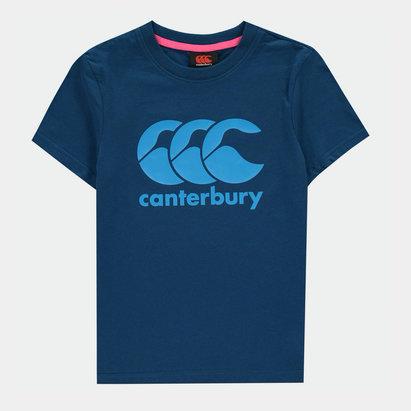 Canterbury Logo T Shirt Junior Boys