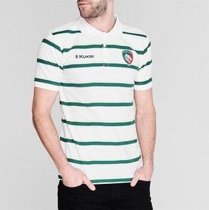 Kukri Leicester Tigers 2019/20 Yarn Dye Polo Shirt