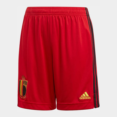 adidas Belgium Home Shorts 2020 Junior