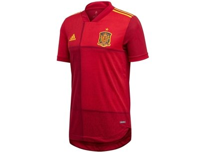 adidas Spain Home Authentic Shirt 2020