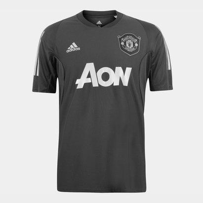 adidas Manchester United European Training Shirt 2019 2020 Mens