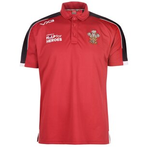 VX-3 4 Heroes Wales Polo Shirt Mens