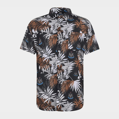 NUFC Newcastle United Floral Shirt Mens