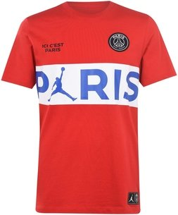 Paris Saint Germain x Jordan T Shirt 2019 2020 Mens