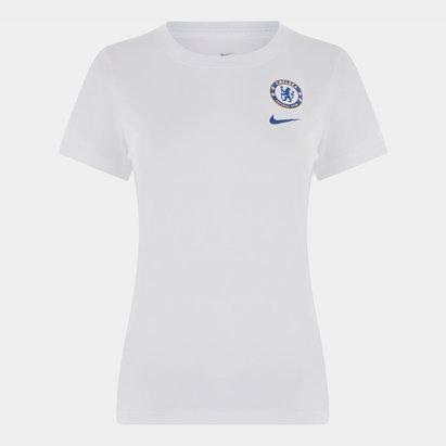 Nike Chelsea 19/20 Crest Ladies T-Shirt