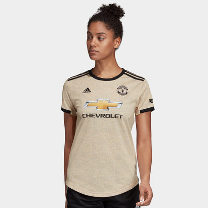 adidas Manchester United 19/20 Ladies Away S/S Football Shirt