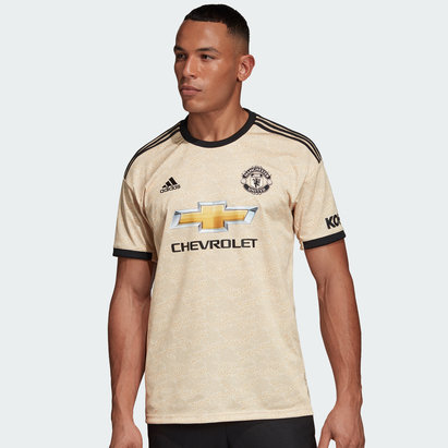 adidas Manchester United 19/20 Away S/S Football Shirt