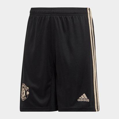 adidas Manchester United 19/20 Kids Away Football Shorts