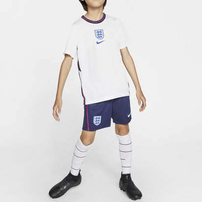 Nike England 2020 Home Mini Kids Football Kit