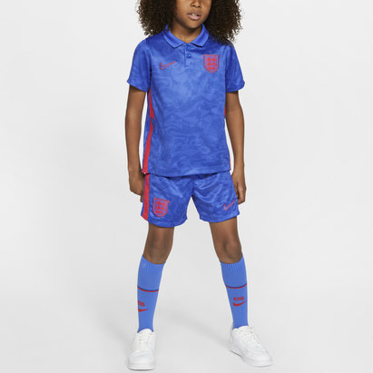 Nike England 2020 Away Mini Kids Football Kit