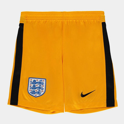Nike England 2020 Kids Home Goalkeeper Football Shorts