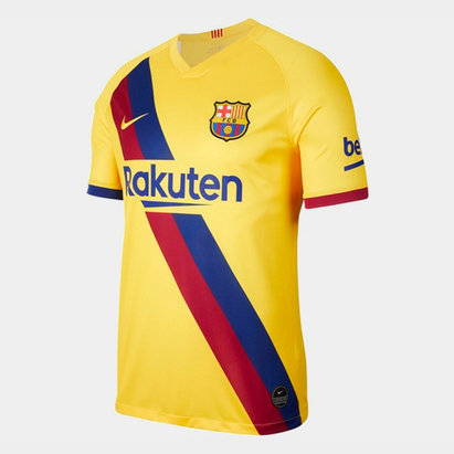 Nike FC Barcelona 19/20 Away S/S Football Shirt
