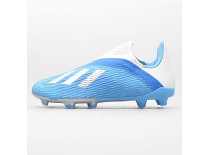 adidas X 19.3 Laceless Childrens Unisex FG Football Boots