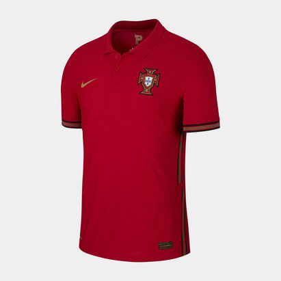 Nike Portugal 2020 Home Authentic Match Football Shirt