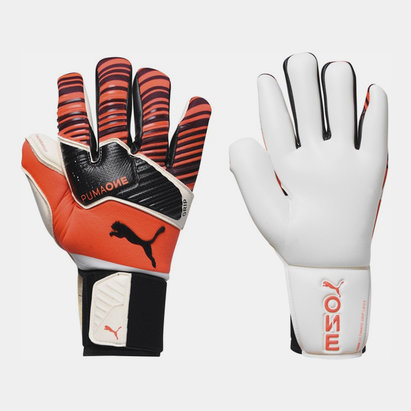 Puma One Grip 1 Hybrid Goalkeeper Gloves