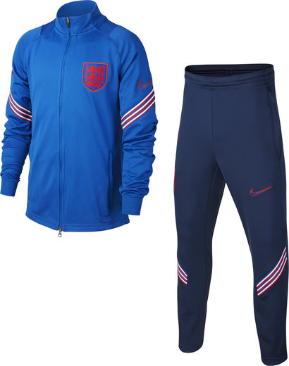 Nike England 2020 Kids Strike Football Tracksuit